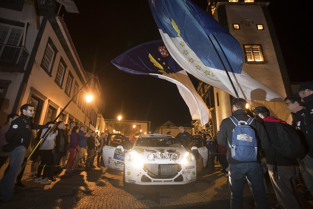 03 GRIEBEL Marijan (deu), PEUGEOT 208 T16, portrait during the 2018 European Rally Championship ERC Azores rally,  from March 22 to 24, at Ponta Delgada Portugal - Photo Gregory Lenormand / DPPI