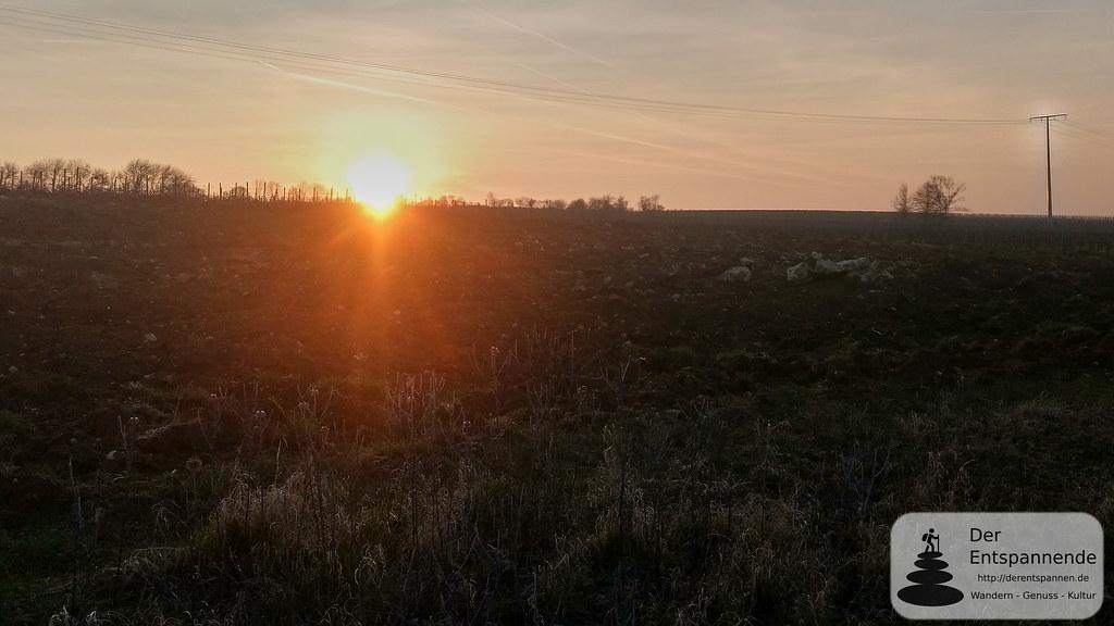 Sonnengaufgang bei Sörgenloch