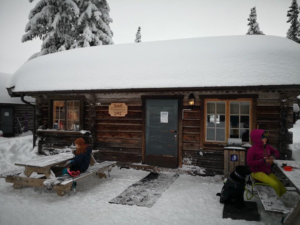 Vaffelstua hut
