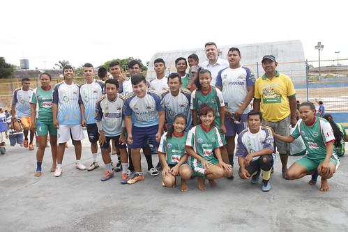 Manaus.07.04.18.1º jogos Amistosos indigina de futebol.