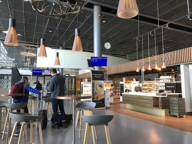 Rovaniemi airport lounge