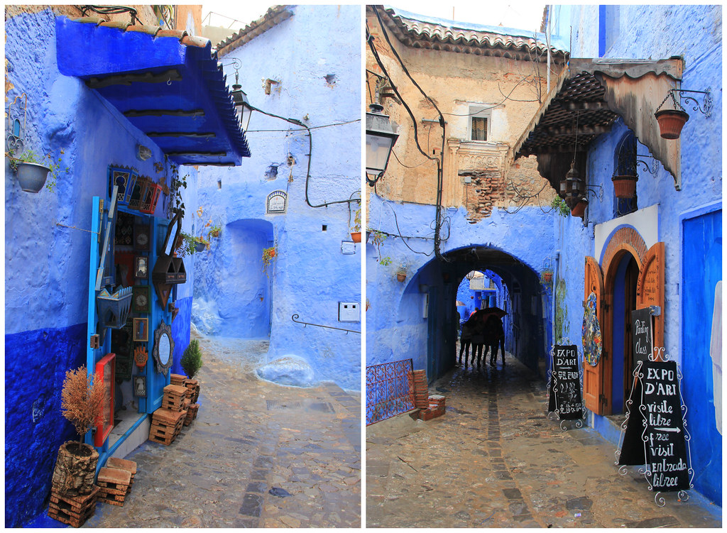 Art galleries and shops, Chefchaouen