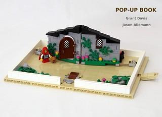 令人瞠目結舌的設計,快來打開滿滿的驚喜~!JKBrickworks × Grant_Davis_ 樂高MOC 作品【樂高立體書】LEGO Pop-Up Book 拼出自己的故事吧~