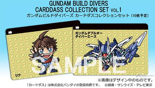 Gundam Build Divers Cardaas Collection
