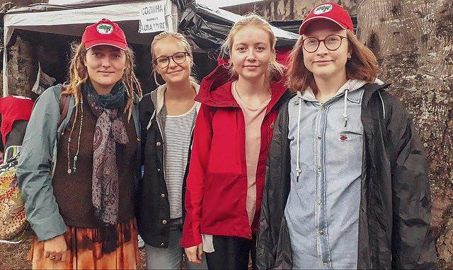 El Comité Noruego de Solidaridad con América Latina  es uno de los colectivos extranjeros que participan del Campamento Lula Libre - Créditos: Eduardo Matysiak/Agencia PT