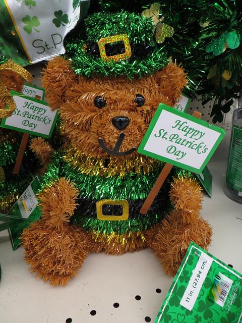 St. Patrick Day's Bear