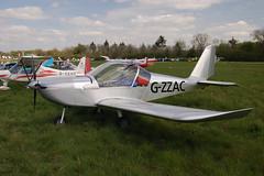 G-ZZAC Evektor EV-97 [PFA 315-14642] Popham 020509