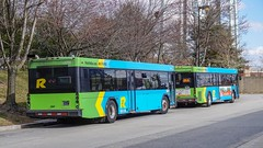 Montgomery County Transit Ride On 2009 & 2013 Gillig Low Floor Advantage Diesel #5767 & 5756