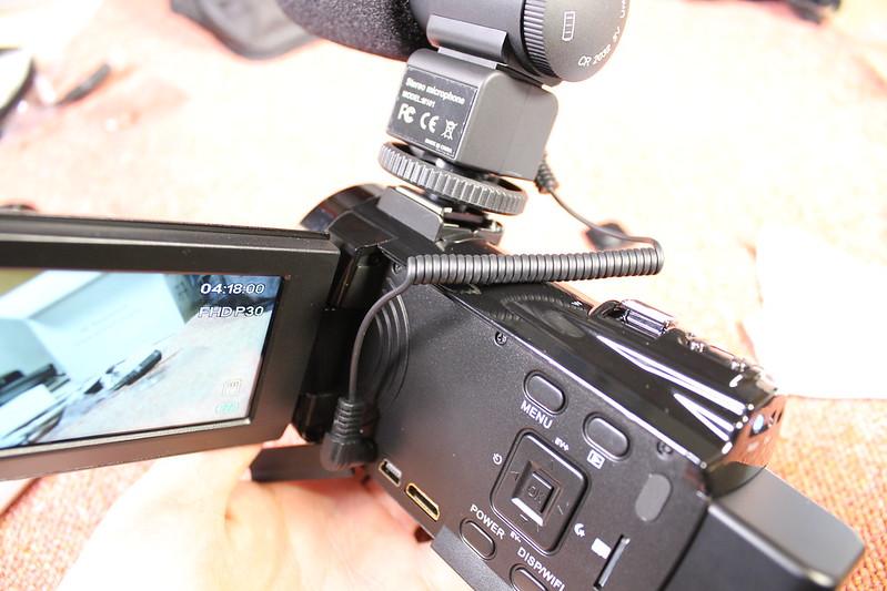 TOMTOP Andoer 4K ビデオカメラ 開封レビュー (77)