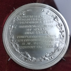 Cape Cod medal reverse