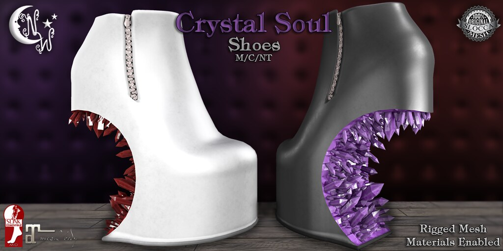 *NW* Crystal Soul Shoes