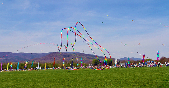 Blue Ridge Kite Festival - Green Hill Park
