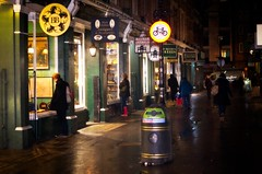 Cecil Court at Night
