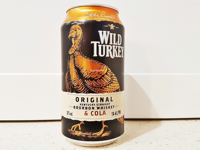 Wild Turkey Bourbon Whisky & Cola