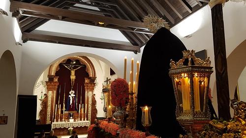 Virgen del Carmen del Prendimiento en la capilla de San Sebastián