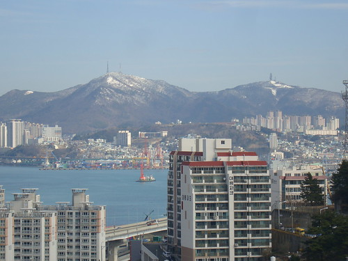 Second Snowy Day in Busan in March