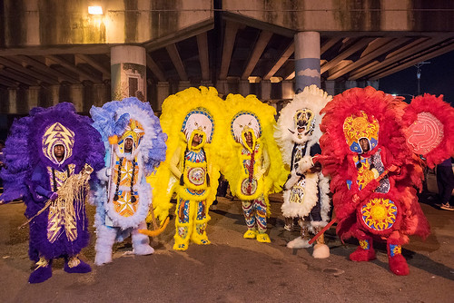 07 - Creole Osceolas out downtown during Saint Joseph's Night in New Orleans on March 19, 2018. photo by Ryan Hodgson-Rigsbee RHRphoto.com