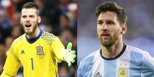 David de Gea Tidak Gentar Menghadapi Lionel Messi