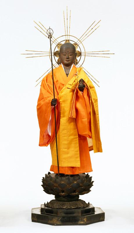 重要文化財《地蔵菩薩立像》(鎌倉時代、奈良・伝香寺)