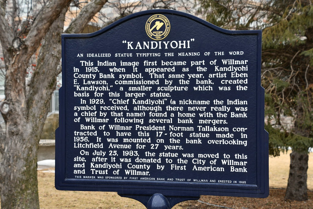 Chief Kandiyohi, Willmar, MN