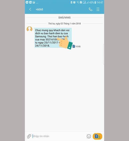 Hướng dẫn kiểm tra bảo hành của điện thoại SamSung - Cách kiểm tra bảo hành máy Samsung