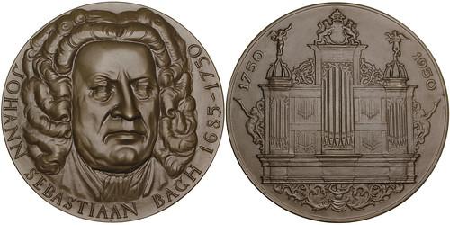 Johann Sebastian Bach Bronze Medal