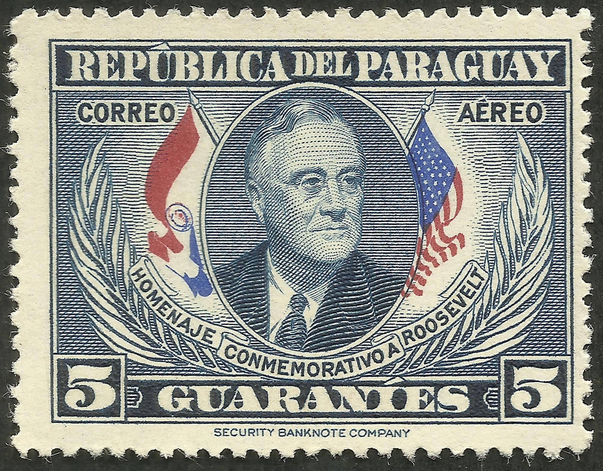 Paraguay - Scott #C188 (1950)