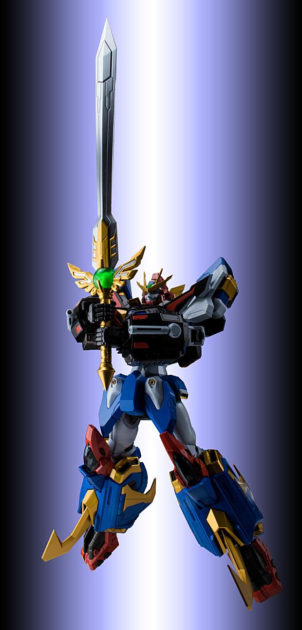"""超重合神!大張正己X千值練 METAMOR-FORCE """"BARI""""ATION《超重神GRAVION》神機超重神(超重神グラヴィオン ゴッドグラヴィオン)"""