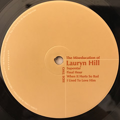 LAURYN HILL:THE MISEDUCATION OF LAURYN HILL(LABEL SIDE-B)