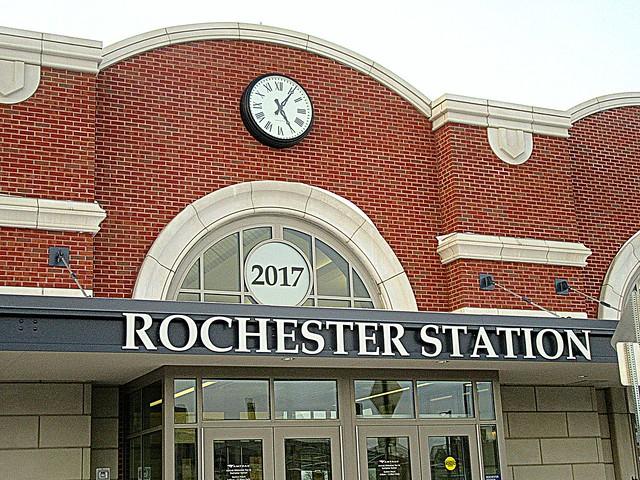 Station facade