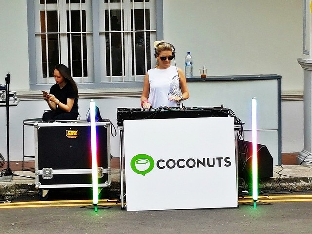 DJ Amy Dabbs Spinning