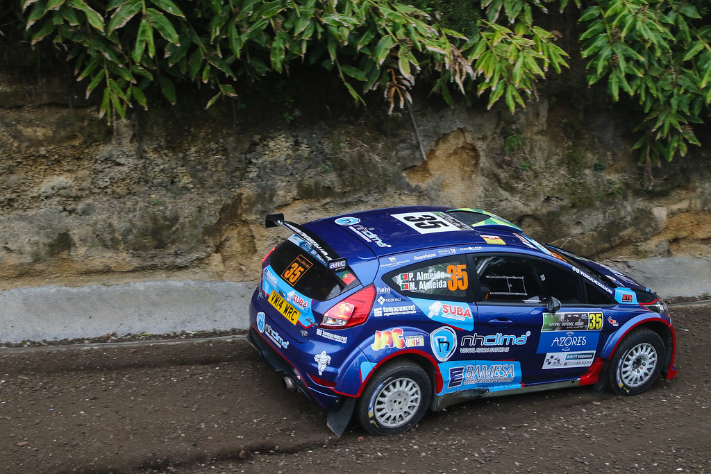 35 ALMEIDA Pedro(prt) ALMEDA Nuno ( prt), SKODA FABIA S2000, action during the 2018 European Rally Championship ERC Azores rally,  from March 22 to 24, at Ponta Delgada Portugal - Photo Jorge Cunha / DPPI
