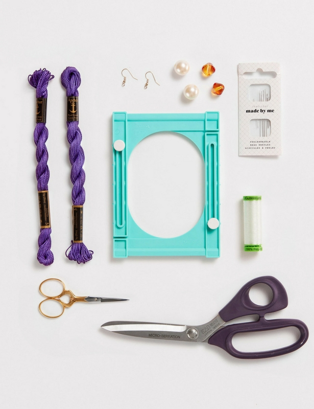 Tassel Earrings Steps MATERIALS
