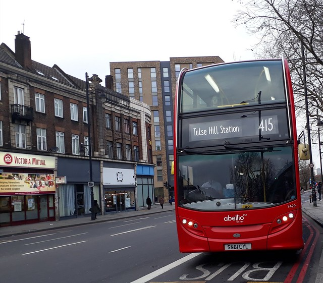 Abellio London 2429 SN61CYL | 415 to Tulse Hill Station