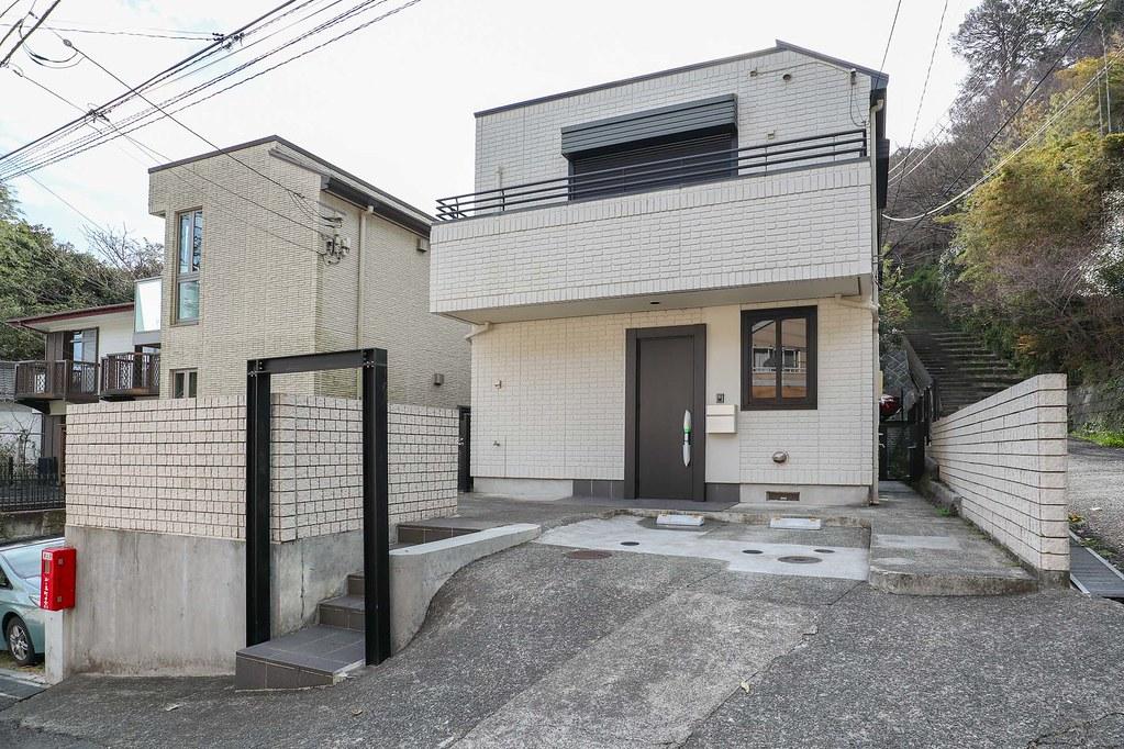 鎌倉の中古戸建/重厚感のある積水ハウス施工