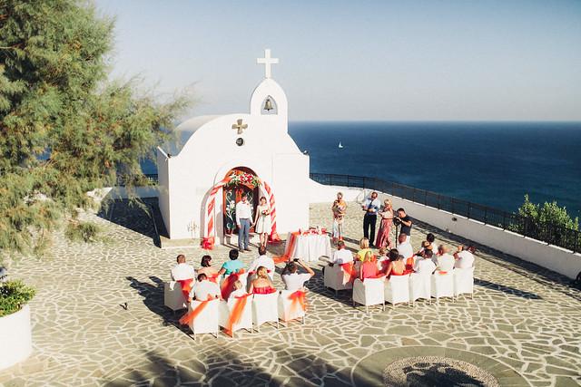 Dream wedding in Rhodes