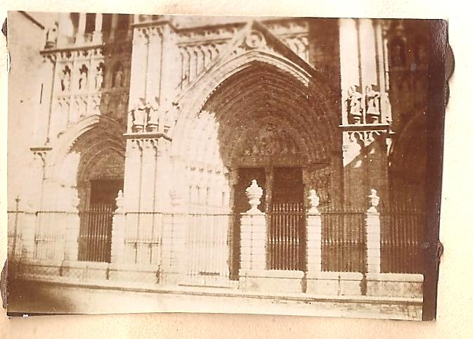 Catedral de Toledo en 1898. Anónimo Francés.