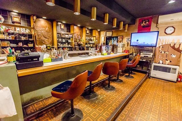 北海道 十勝帶廣美食-在地老店起司焗烤肉醬義大利麵:珈琲きんぐ @愛旅行 - 右上的世界食旅