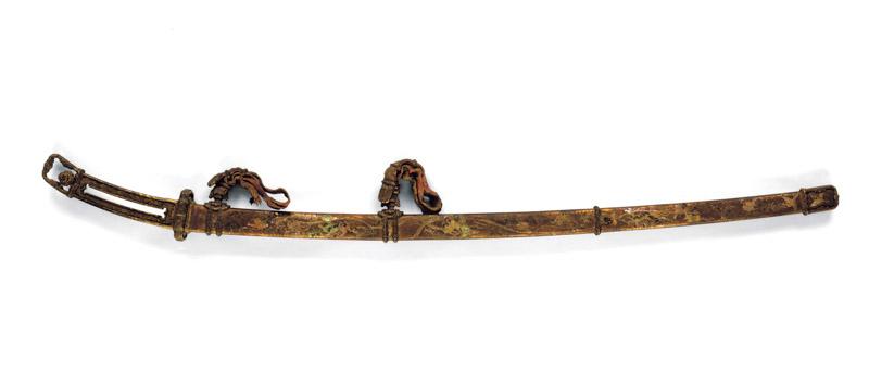 国宝《金地螺鈿毛抜形太刀》(平安時代、春日大社、前期展示)