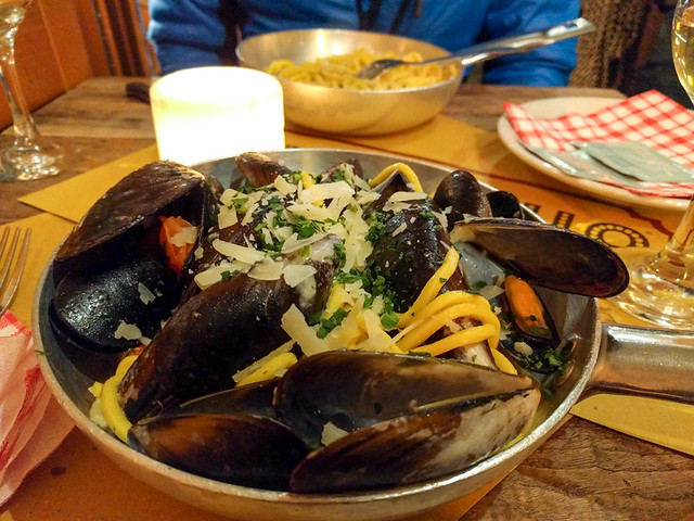 pasta and mussels @ Tonnarello