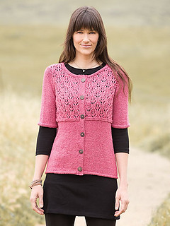 Gaia by Kristen TenDyke for Berroco knit with Berroco Remix