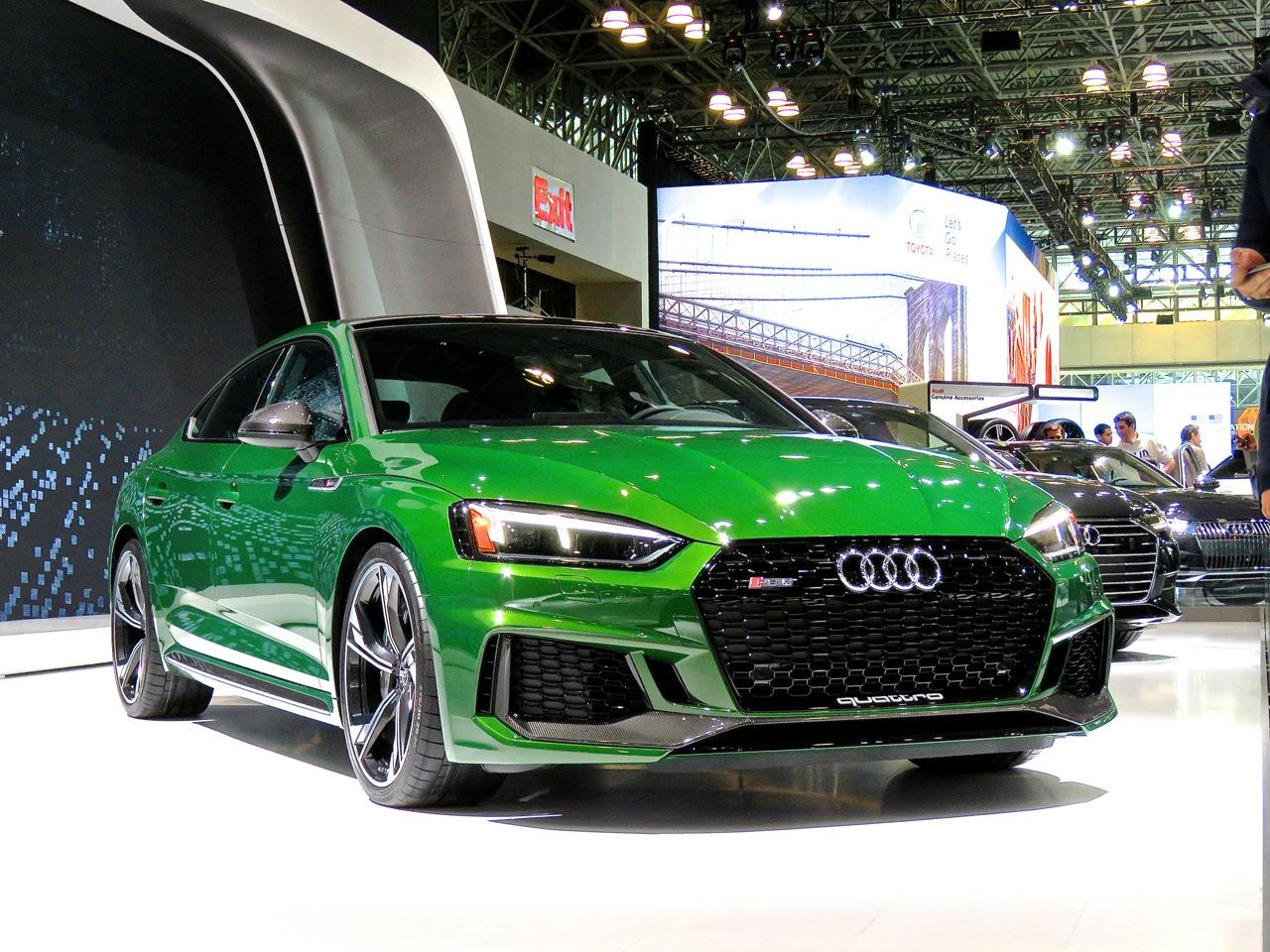 Audi RS5 Sportback NYIAS 1