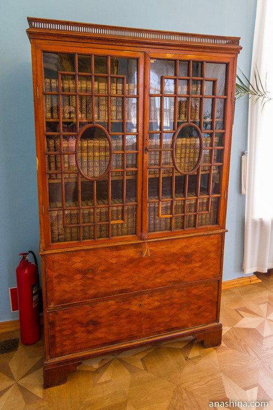Книжный шкаф, усадьба Гончаровых, Полотняный Завод