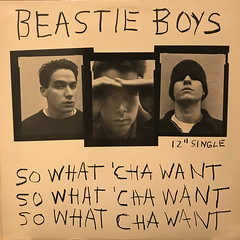 BEASTIE BOYS:SO WHAT 'CHA WANT(JACKET A)