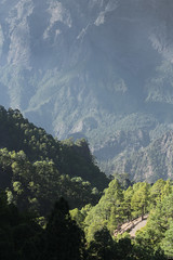 Las Palmas light in the mountains