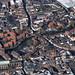 Fye Bridge over the River Wensum in Norwich - aerial