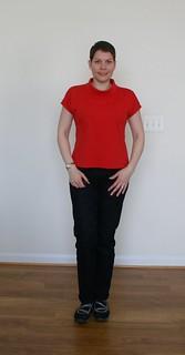 Black jeans - front