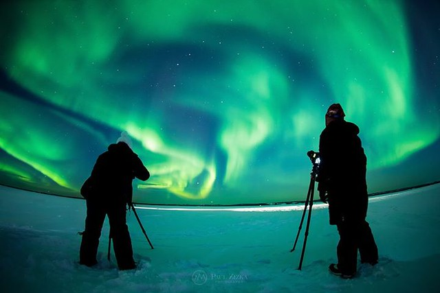A little behind-the-scenes green from Yellowknife on this St. Patrick's Day! And you're in luck if you've been interested in our popular aurora workshops this fall - two spots have opened up for Nights of Wonder II. Details in the comments! :four_leaf_clo