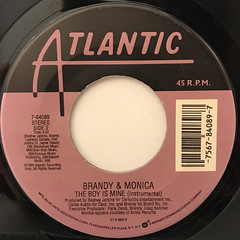 BRANDY & MONICA:THE BOY IS MINE(LABEL SIDE-B)
