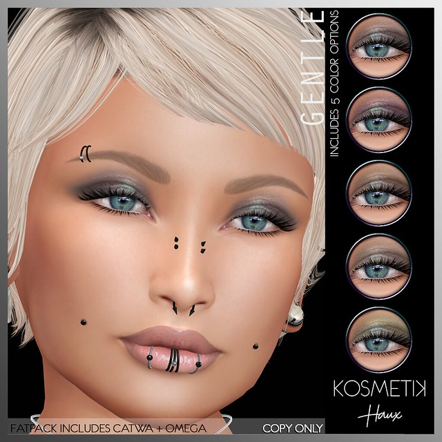 .kosmetik Eyeshadow Applier - Haux Gentle